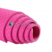 Quality Extra Thick Eco Friendly Yoga Mat Red Purple Blue for Exercise for sale