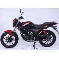 Quality Wet Multichip Gas Powered Motorcycle For Long Distance Travel Double Reduction for sale