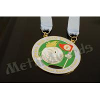 Quality Novelty Custom Baseball Medals , Kids Sports Medals Gold Silver / Copper Plating for sale