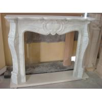 Quality Craft Stove Fireplace, White Marble Fireplace for Decoration for sale