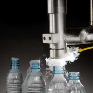 China Bottled Water 300 Cpm Liquid Nitrogen Dosing Machine on sale