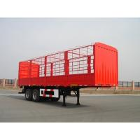 Quality 13m-2 Axles-30T-Rail Side Flat Bed container semi trailer for sale