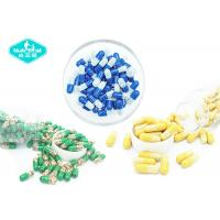 Quality Empty Hard Gelatin Capsules , Vacant Hard Gelatin Capsules with Clear , Yellow , Blue , White , Green Color for sale