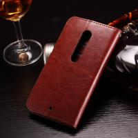 Colored Moto X Play Leather Case , PU Leather Motorola Protective Case