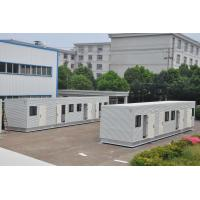 Quality customized prefabricated modern steel structure modular container house for sale