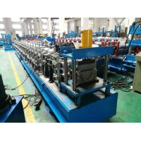 Quality Hydraulic Cutting Gutter Roll Forming Machine , 7.5KW Half Round Gutter Machine for sale