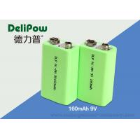 China KTV Microphone Nimh 9v Rechargeable Battery , 160mAh Nimh Batteries Rechargeable on sale