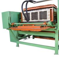 China Paper Pulp Egg Tray Making Machine , Egg Packing Trays Pulp Molding Machine on sale