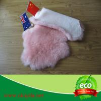 Quality home decoration of real natural New Zealand sheepskin rug sheep fur rugs for sale