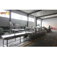 Quality High Speed Cereal Bar Equipment For Candy Bar / Peanut Candy Bar Production for sale
