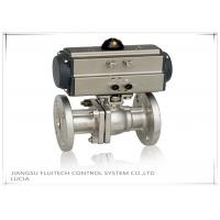 Quality Double Action Stainless Steel Motorized Ball Valve / Two Piece Ball Valve for sale