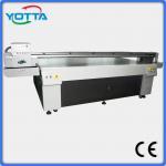 Quality Latest digital uv flatbed printer on wood, uv led inkjet printing machine for sale