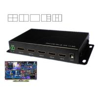 Quality 4 In1 Out DNF HDMI Video Splitter 1080P / 720P Resolution Support IR Control for sale
