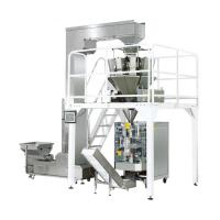 Quality 380V 50HZ Pastry Packaging Machine / PLC Control Multi Head Packing Machine for sale