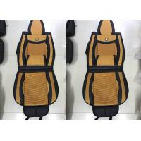 Quality Polyester Cloth Fashion Car Seat Covers , Full Set Waterproof Auto Seat Covers for sale