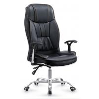 Quality High Back Executive Pu Leather Ergonomic Office Desk Computer Chair Black Color for sale