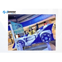Quality 65 Inch Screen 360 Flying Car Driving Simulator Racing Car For Game Center for sale