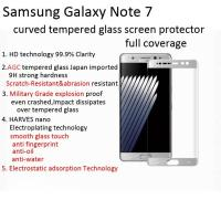 Quality tempered glass screen protector for galaxy note 7/samsung note 7 3D curved edge to edge Scratch-Resistant shatterproof for sale