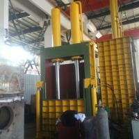 Quality Top - mounted Cylinder Vertical plastic Baler Machine With PLC Control 18.5kW Y82 - 120B for sale
