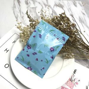 China Custom Printed Small Laminated Aluminum Foil Mylar Ziplock Bag/Zipper Bag For Food Grade on sale