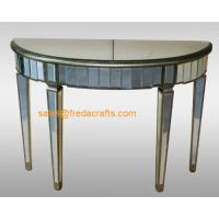Quality China supplier venetian mirrored furniture console table/end table for sale