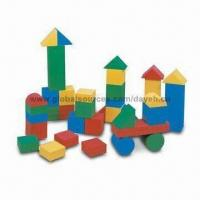 China 36pcs Giant Neon Building Block with 12cm Thickness, Made of High Density EVA Foam on sale