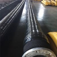 """Quality 8"""" And 10"""" Offshore Hydraulic Hose / Marine Dock Oil Hose With Steel Flange for sale"""