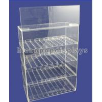 Quality Tobacco Custom Acrylic Display Case Transparent Waterproof OEM Service for sale