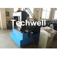 Quality Chain Drive Economic Cable Tray Roll Forming Machine With IP55 Motor Protection TW-CBT300 for sale