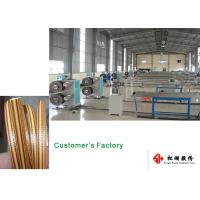 Quality Furniture Wicker Plastic Rattan Extrusion Line / Artificial Rattan wicking Production Line for sale
