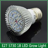Quality 1XE27 LED Grow lamps 6W 10W 18W Spotlight Flower plant bulbs fHydroponics system AC 85V- 2 for sale