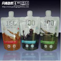 Quality stand up pouch with spout, cosmetic packaging bag,  body lotion doyapack bag for sale