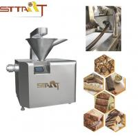 Quality Peanut Candy / Protein Bar Making Machine Multi Controller Languages Optional for sale