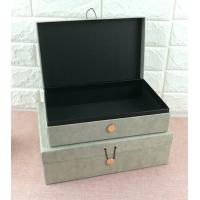Quality Luxury Rigid Cardboard Custom Printed Jewelry Boxes , Jewelry Gift Boxes With Closure for sale