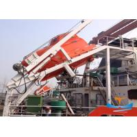 Quality Safe Free Fall Lifeboat Davit , Life Raft Davit Launch 90kn Working Load for sale