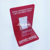 Quality A3 A4 A5 customize size T L shape sign holder for sale