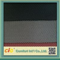 Quality Waterproof Polyester Mesh Fabric For Mattress Motorcycle Seat Cover , 600D*300D Density for sale