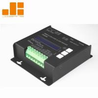 Quality LCD Display Black 4CH DMX Decoder With Micro - Computer Control Technology for sale