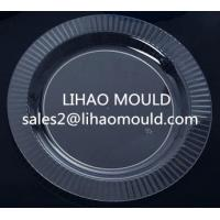 thin wall plastic clear plate mould