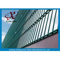 Quality RAL Colors Galvanized Double Wire Fence Fit Airport And Power Station for sale