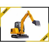 Quality 25.2kw 4.2 Tonne Construction Equipment Excavator Easy Transporation Extendable Chassi for sale