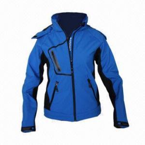 Quality Waterproof Women's Softshell Jacket, Windbreaker, Fashionable Design for sale
