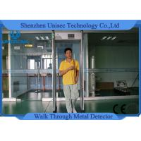 Quality Adjusted 999 Sensitivity Walk Through Metal Detector Rental With Lcd Screen for sale
