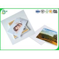China Eco - Friendly 260gsm High Glossy Photo Cardboard Paper Roll for Digital Professional Printing on sale