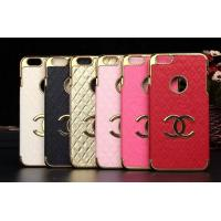 China Luxury CC leather PC hard Case Cover For iPhone 4 5s 6s plus SAMSUNG galaxy S6 S7 NOTE 3 on sale