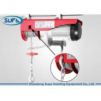 Buy cheap 600kg Electric Winch Wire Rope Hoist Mounting Convenient Light Weight from wholesalers