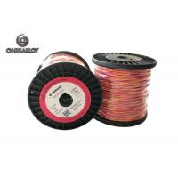 China Fiberglass Insulation Thermocouple Cable Type K 100 M Extension Class I on sale