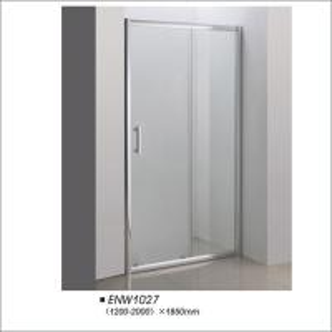 China Bathroom Tempered Glass Frameless Shower Doors Easy Installation Customerized Size on sale