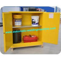 China Acid Corrosive Fire Resistant File Cabinet Safety Yellow For Filing Data on sale