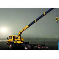 Quality Truck Mounted 6300kg articulated lorry mounted crane 40 L / min for sale